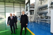 President Ilham Aliyev attends presentation of agropark owned by Global Agro LLC in Kurdamir - Gallery Thumbnail