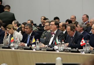 Azerbaijani defense minister attends NATO meeting (PHOTO)