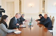 President Ilham Aliyev receives delegation led by EU Special Representative (PHOTO) - Gallery Thumbnail