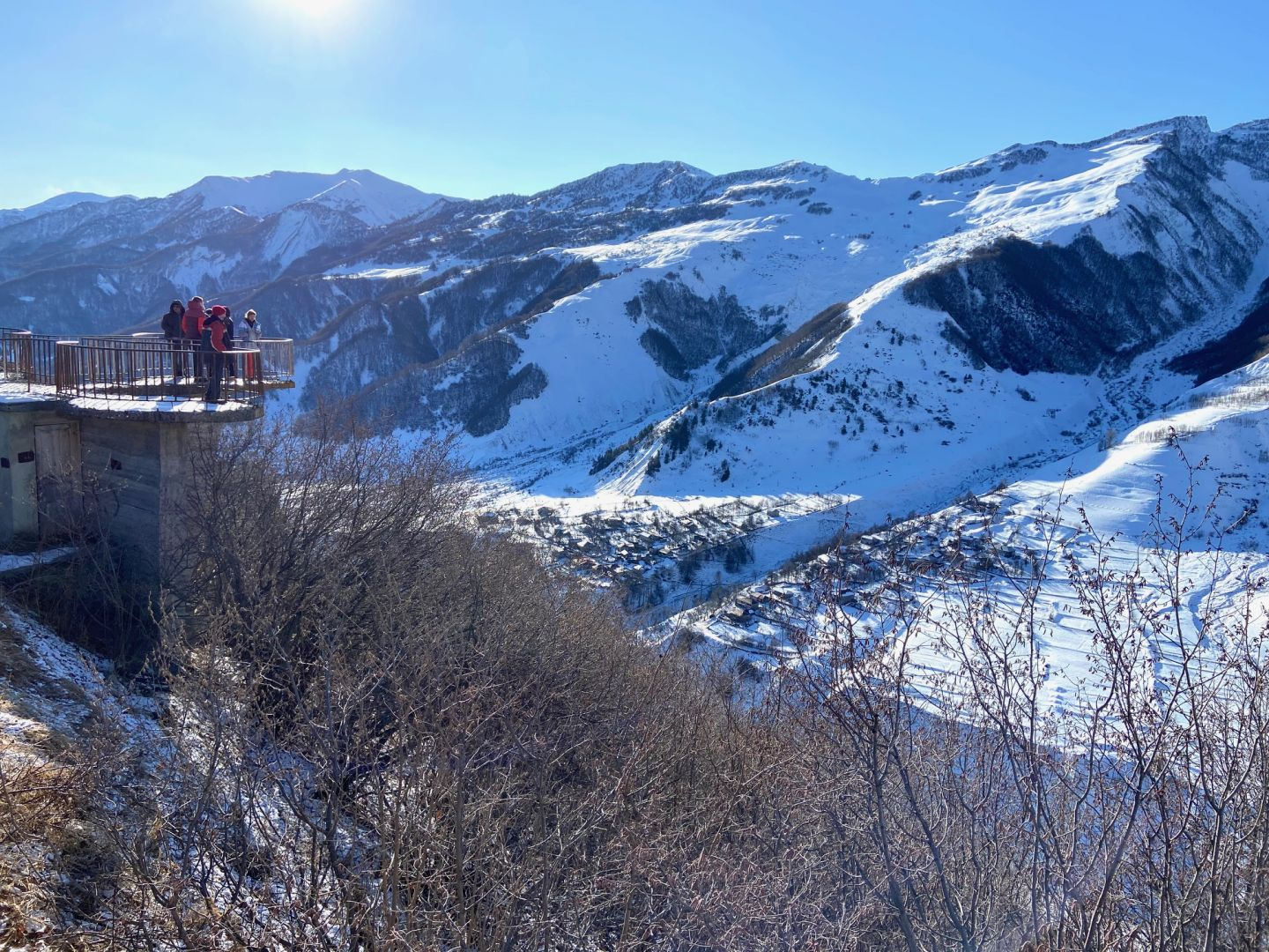 Georgia continues projects of Winter resort in Gudauri