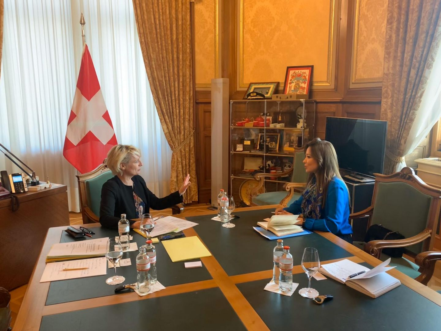 Azerbaijani ambassador meets with president of National Council of Swiss Confederation (PHOTO) - Gallery Image