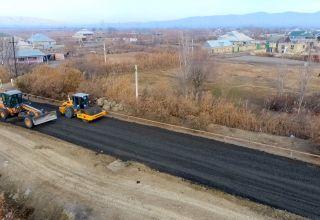 Оглашены сроки окончания реконструкции дорог в Мингячевире
