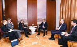 Azerbaijani president meets with president of International Committee of Red Cross (PHOTO) - Gallery Thumbnail