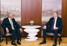 President Ilham Aliyev met with Afghan President in Munich (PHOTO) - Gallery Thumbnail