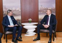 Ilham Aliyev meets with head of South Caucasus working group of German Eastern Business Association (PHOTO) - Gallery Thumbnail