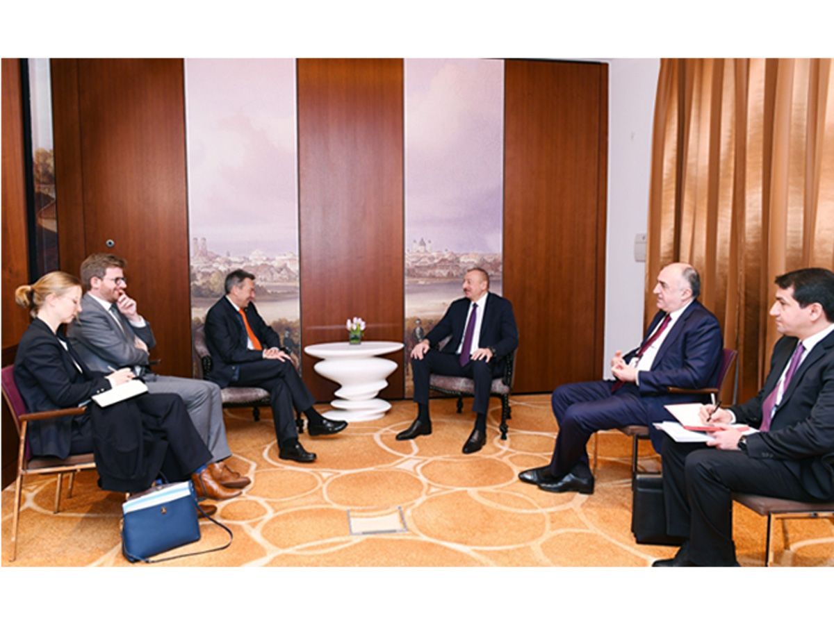 Azerbaijani president meets with president of International Committee of Red Cross (PHOTO)