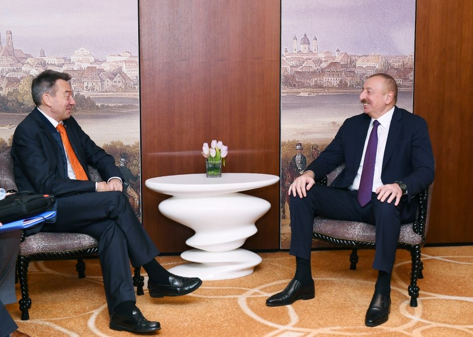 Azerbaijani president meets with president of International Committee of Red Cross (PHOTO) - Gallery Image