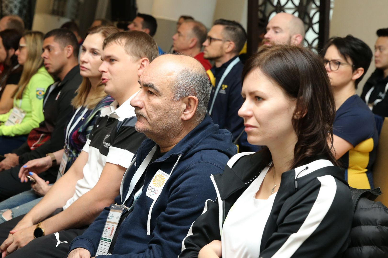 Meeting of delegations of FIG World Cup in Trampoline & Tumbling held in Baku - Gallery Image