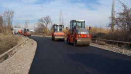В Гейчае реконструируется дорога местного значения (ФОТО) - Gallery Thumbnail