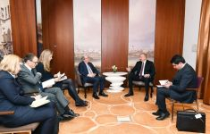 President Ilham Aliyev meets World Bank Managing Director in Munich (PHOTO) - Gallery Thumbnail