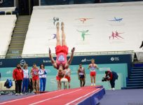 FIG World Cup in Trampoline Gymnastics, Tumbling kicks off in Baku (PHOTO) - Gallery Thumbnail