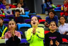 Emotions of fans at FIG World Cup in Trampoline Gymnastics & Tumbling in Baku (PHOTO) - Gallery Thumbnail