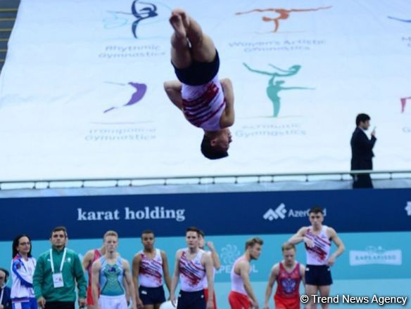 FIG World Cup in Trampoline Gymnastics, Tumbling prepares surprise for spectators