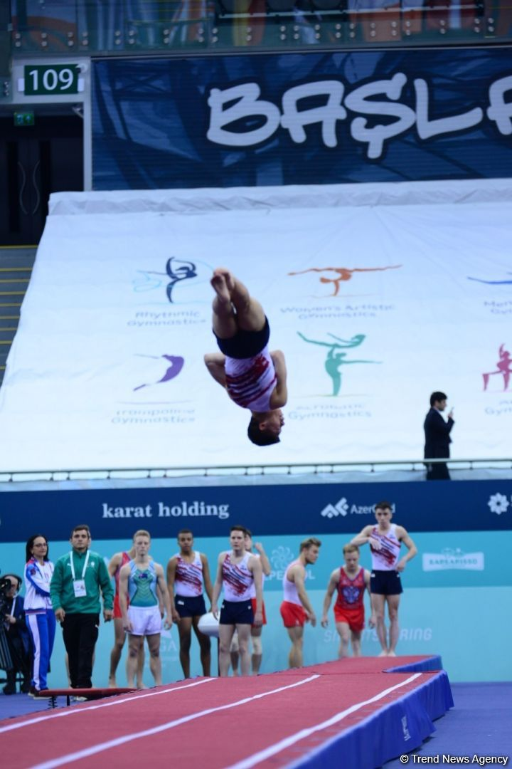 FIG World Cup in Trampoline Gymnastics, Tumbling kicks off in Baku (PHOTO) - Gallery Image