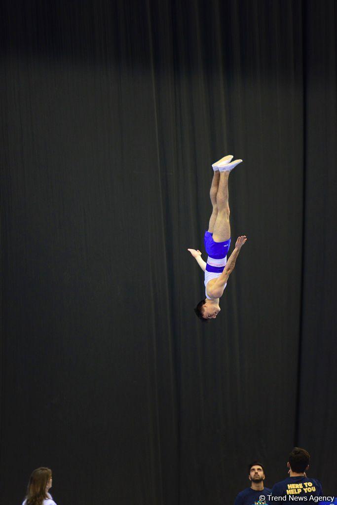 Bakıda batut gimnastikası və tamblinq üzrə Dünya Kubokundan ən maraqlı anlar (FOTO) - Gallery Image