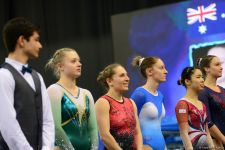 Finals of FIG World Cup in Trampoline, Tumbling kicks off in Baku (PHOTO) - Gallery Thumbnail