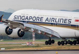 """""""Singapore Airlines"""" 6 mindən çox əməkdaşı ödənişsiz məzuniyyətə göndərib"""