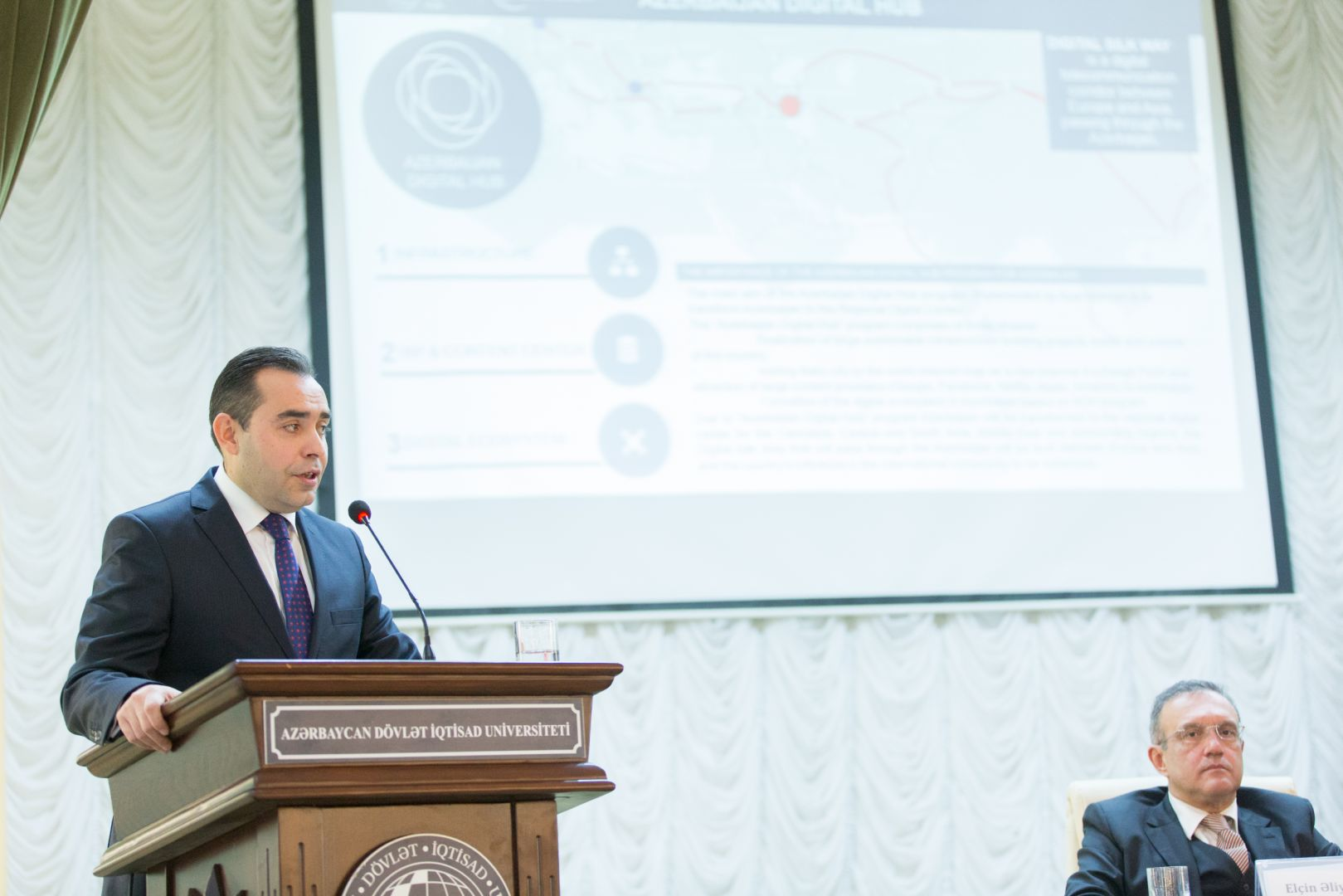 "Contribution of ""Azerbaijan Digital Hub"" program to digital economy building discussed (PHOTO) - Gallery Image"