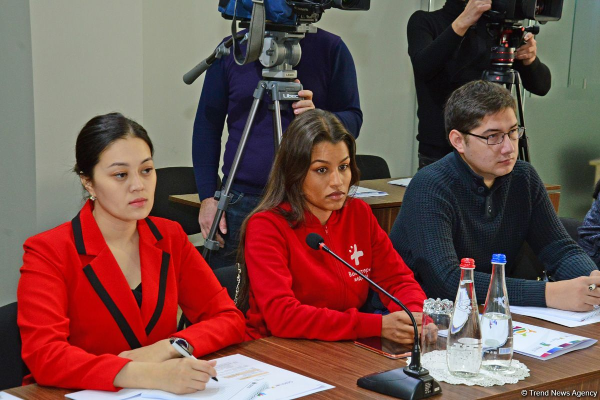 Baku holding first meeting of 'Goodwill Meridians' volunteer event (PHOTO) - Gallery Image