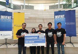 Students of Baku Higher Oil School win international innovation competition in Malaysia (PHOTO)