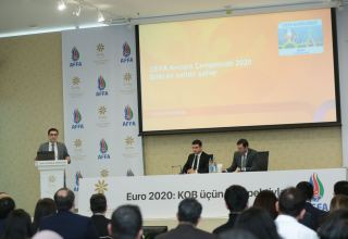 AFFA urges entrepreneurs to actively participate in UEFA EURO 2020 in Baku