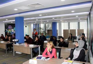 В Центре по развитию МСБ Хачмаза начались тренинги