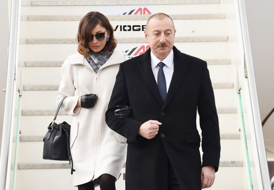 Azerbaijani president arrives in Italy for state visit (PHOTO) - Gallery Image