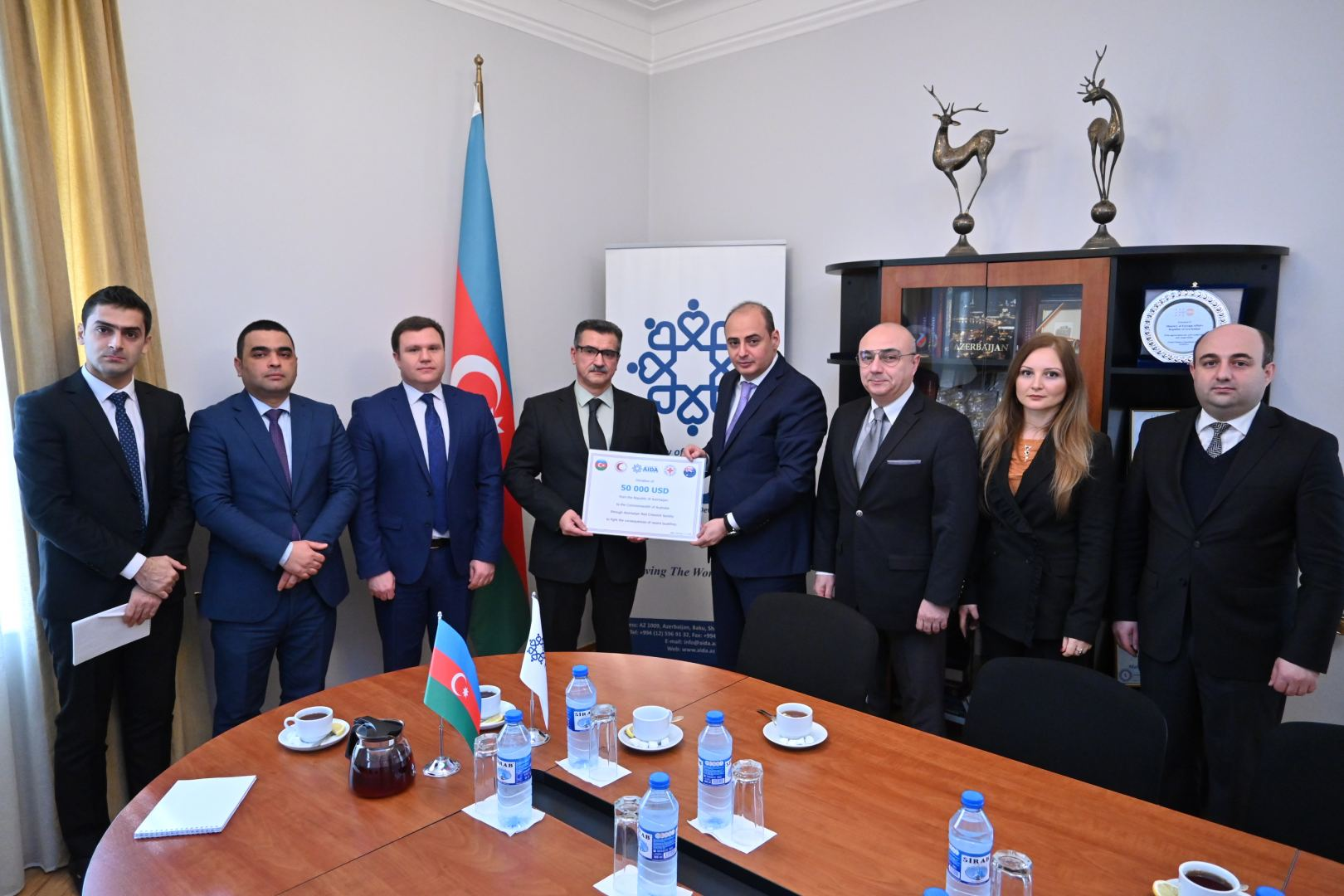 Azerbaijan sends humanitarian aid to Australia to battle forest fires (PHOTO) - Gallery Image