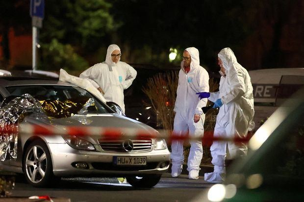 German state minister: Owner of car used to flee shooting was 43-year-old German