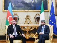 President Ilham Aliyev met with President of Italian Chamber of Deputies (PHOTO) - Gallery Thumbnail