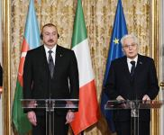 Azerbaijani, Italian presidents made press statements (PHOTO/VIDEO) - Gallery Thumbnail