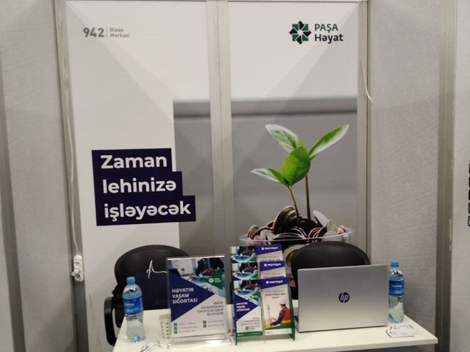 Azerbaijan's Pasha Life Insurance Company reps take part in Partners and Business exhibition in Baku