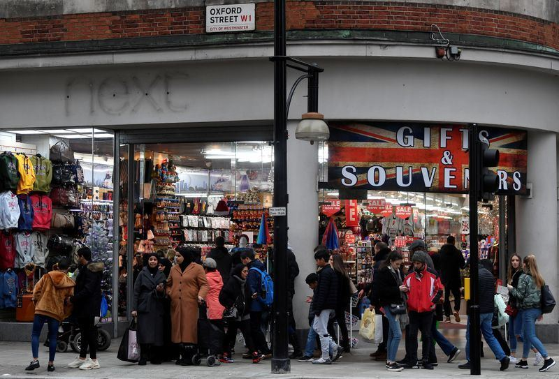 UK retail sales rebound in January after weak end to 2019