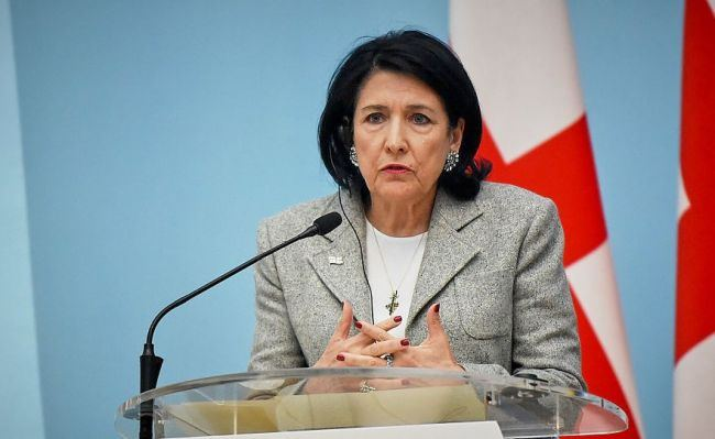 Salome Zurabishvili addressed world leaders at UN high-level meeting