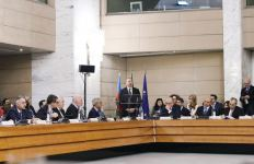 President Ilham Aliyev attends Azerbaijan-Italy business forum in Rome (PHOTO) - Gallery Thumbnail