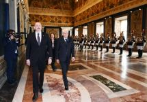 Official seeing-off ceremony held for President Ilham Aliyev in Rome (PHOTO) - Gallery Thumbnail