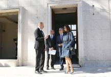 President Ilham Aliyev viewed building designed to host Azerbaijan Culture Center in Rome (PHOTO) - Gallery Thumbnail