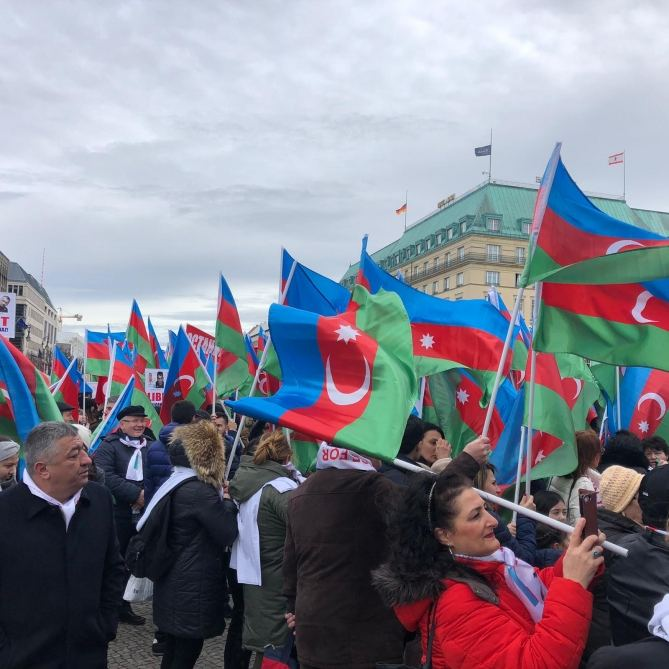 EU-wide Karabakh rally to be broadcast live  (PHOTO) - Gallery Image