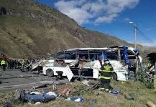 At least 7 dead in Ecuador traffic accident
