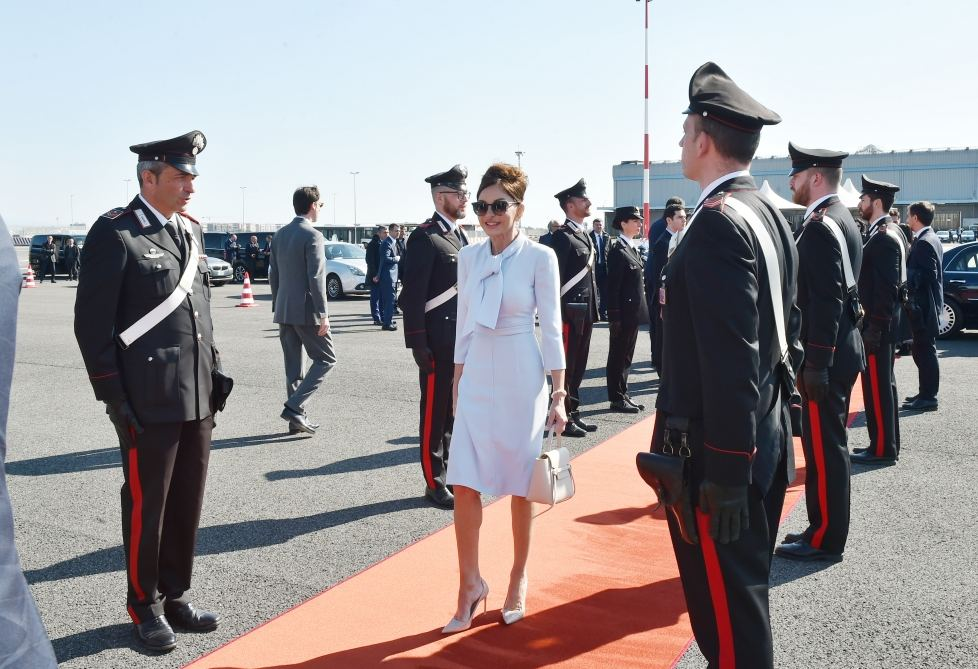 President Ilham Aliyev completed state visit to Italy (PHOTO) - Gallery Image