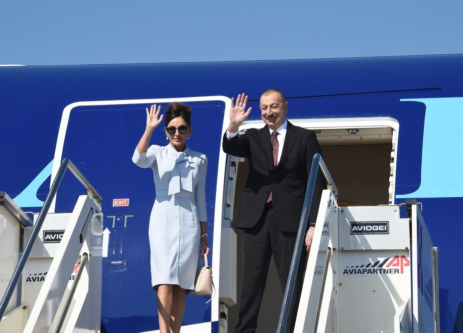 President Ilham Aliyev completed state visit to Italy (PHOTO)