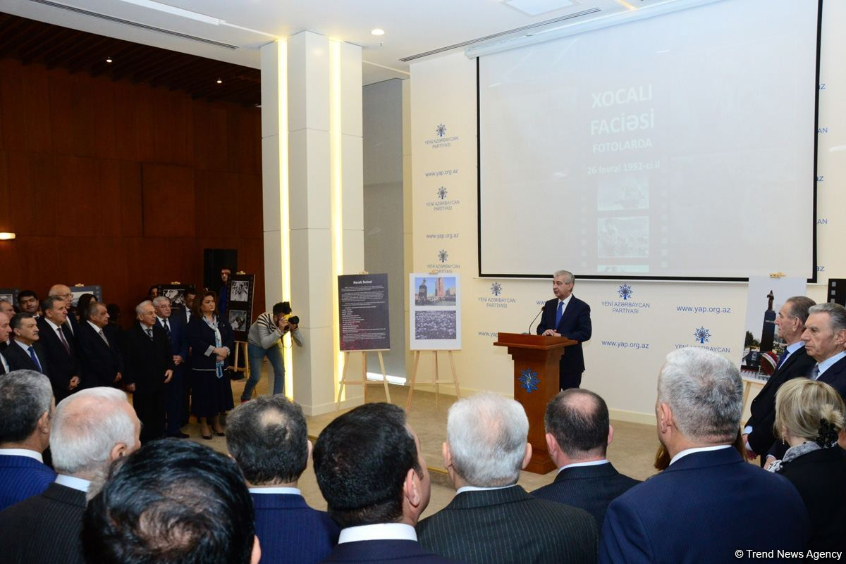 Deputy PM: Khojaly tragedy - one of most serious crimes against humanity (PHOTO) - Gallery Image