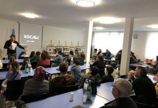 "Simulation game dedicated to Khojaly tragedy held at ""Karabakh"" Azerbaijani school in Switzerland (PHOTO)"