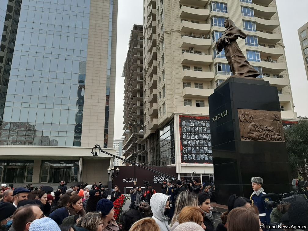 Azerbaijani public commemorates Khojaly genocide victims (PHOTO) - Gallery Image