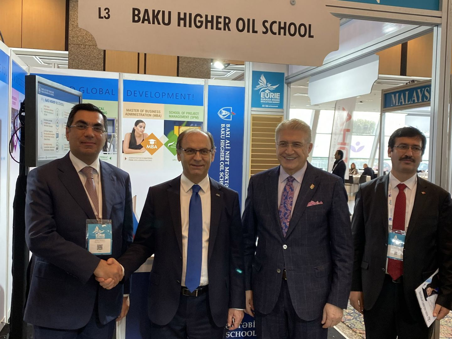 Baku Higher Oil School delegation takes part in Eurasia Higher Education Summit (PHOTO)