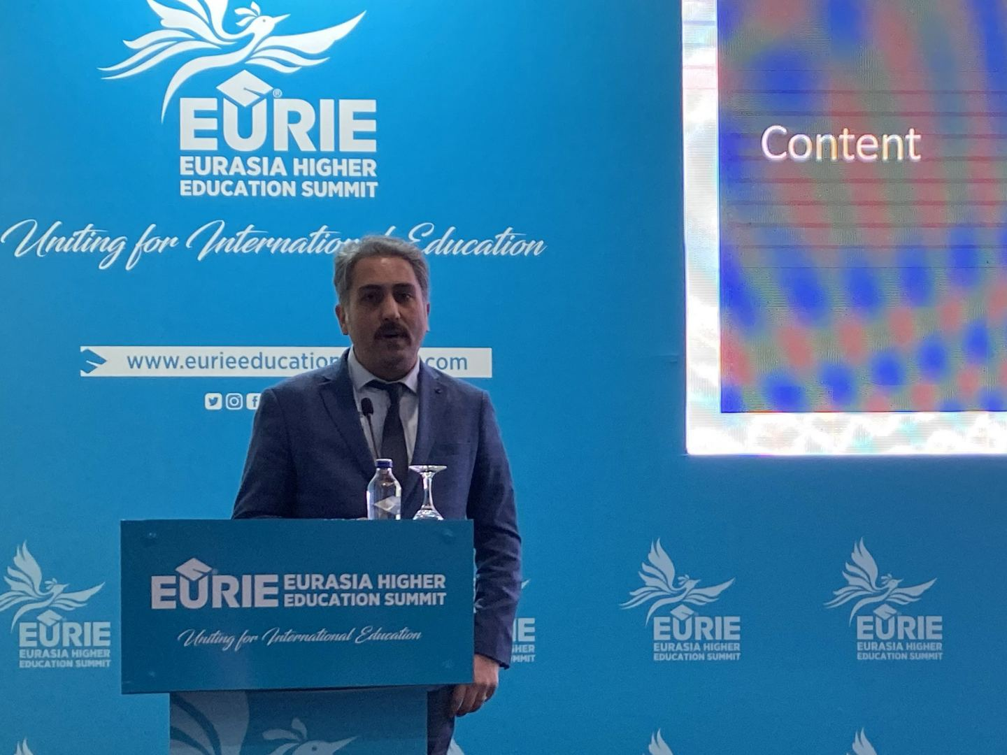 Baku Higher Oil School delegation takes part in Eurasia Higher Education Summit (PHOTO) - Gallery Image