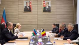 Azerbaijan discusses possibility of Romania's joining Southern Gas Corridor (PHOTO) - Gallery Thumbnail