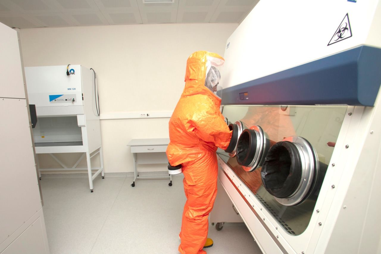 Azerbaijan deploys special laboratories to combat COVID-19 (PHOTO) - Gallery Image