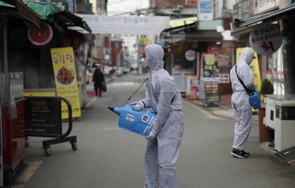 South Korea reports 219 new coronavirus cases, total at 3,150