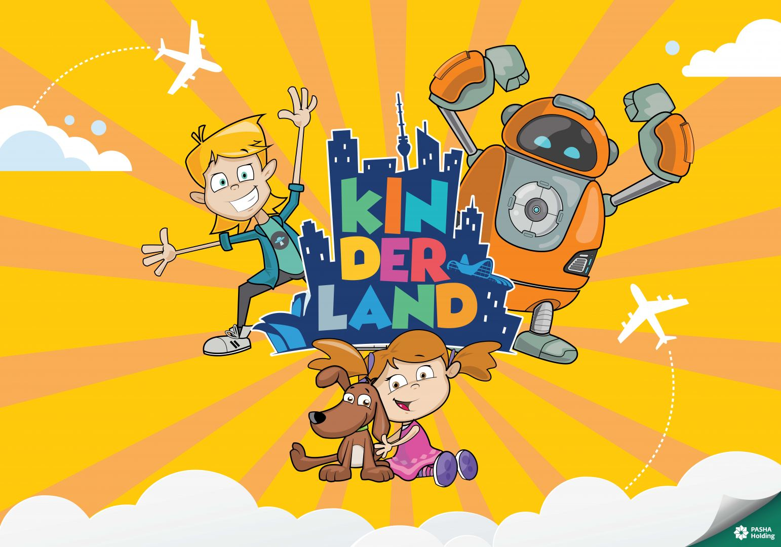 "Be prepared for flight to ""Kinderland"" city"